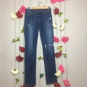 Joe's Jeans Distressed Skinny size 26.